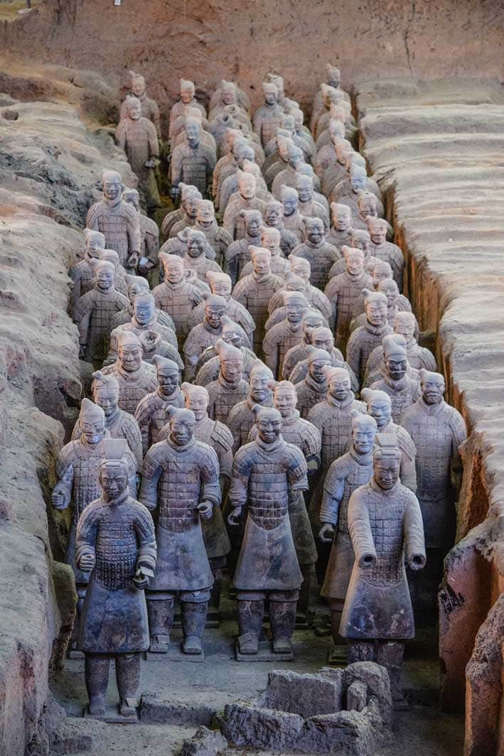 ancient sites - Terracotta Army, China