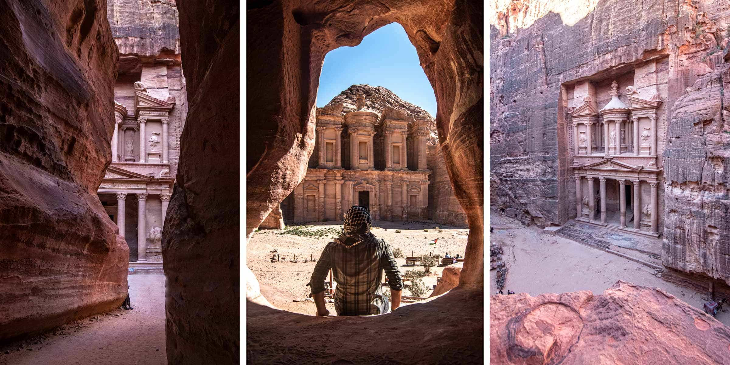 Petra photo guide - best spots inside the Rose City