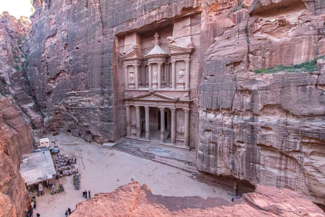 best photo spots in Petra - Petra overview