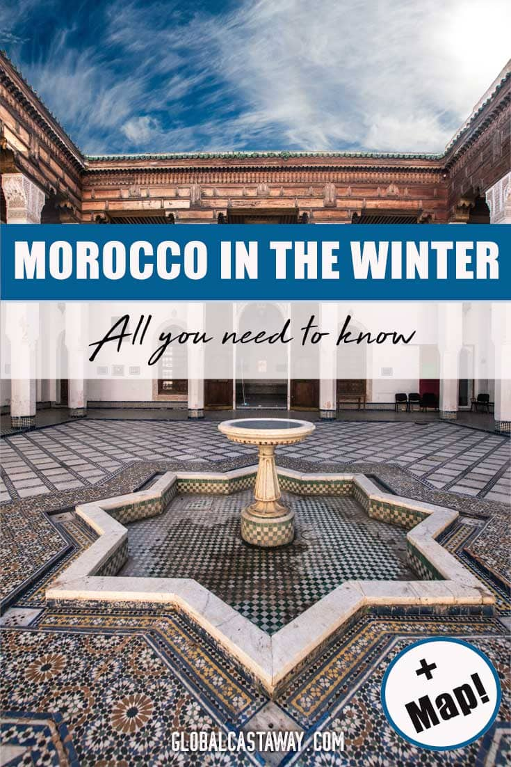 Comprehensive Guide on how to Travel to Morocco in the winter. With tips about the winter weather in Morocco, December events in Morocco and popular destinations to visit in Morocco in the winter.