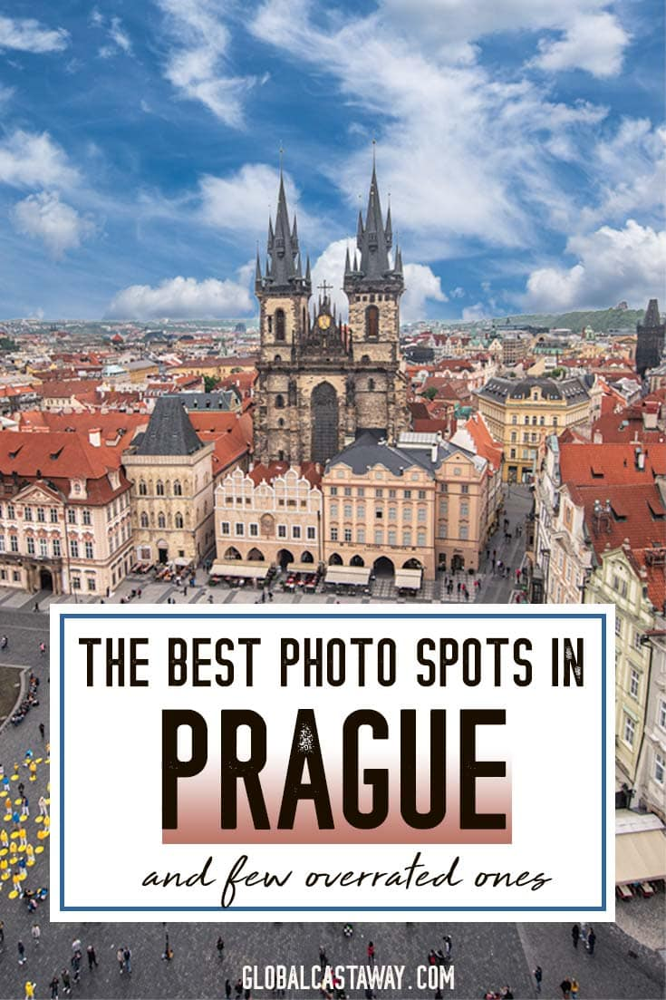 Get your Prague photography on the next level. With this Prague photo guide, you'll see the best photo spots in Old Town Prague, see the best panoramic places in Prague, and find out all the best photo spots on Charles Bridge. The ultimate Prague photo guide! #Prague #travelphotography #Praguephotography