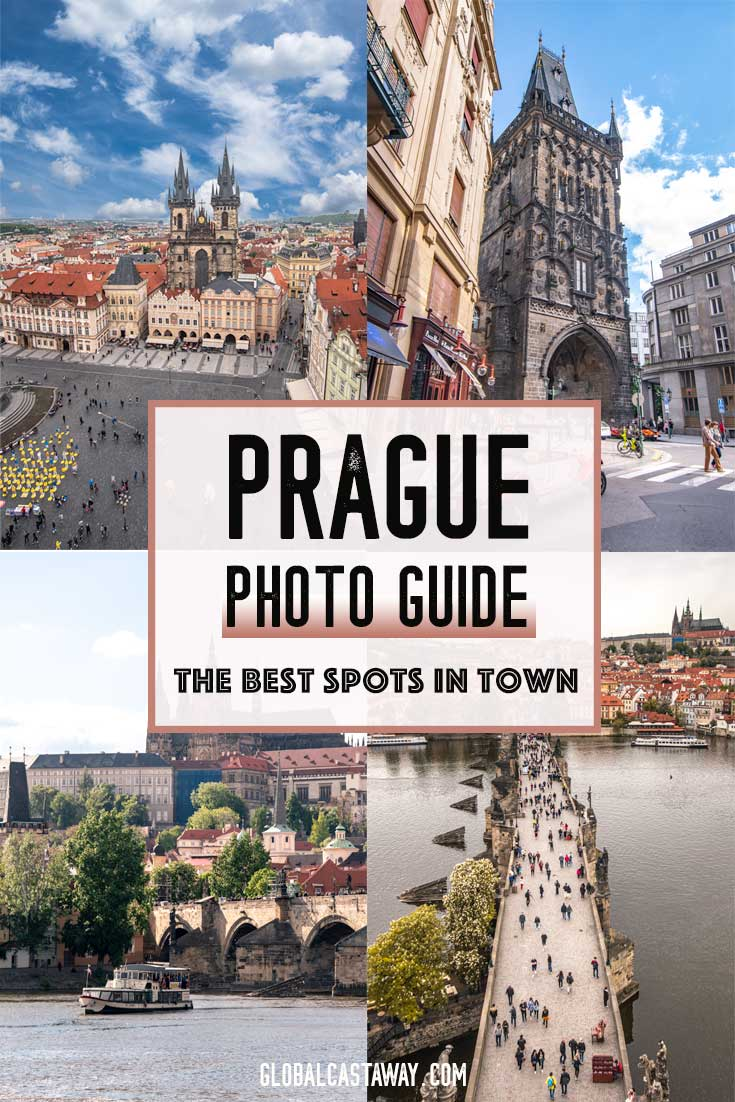 Fancy about Prague photography? The ultimate Prague photo guide that will show you the best photo spots in Prague. Explore the capital of the Czech Republic. Prague Old Town, Charles Bridge, Dancing House and many more! #Prague #travelPrague #Praguephotography