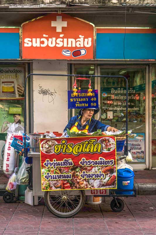 thai streetfood cart