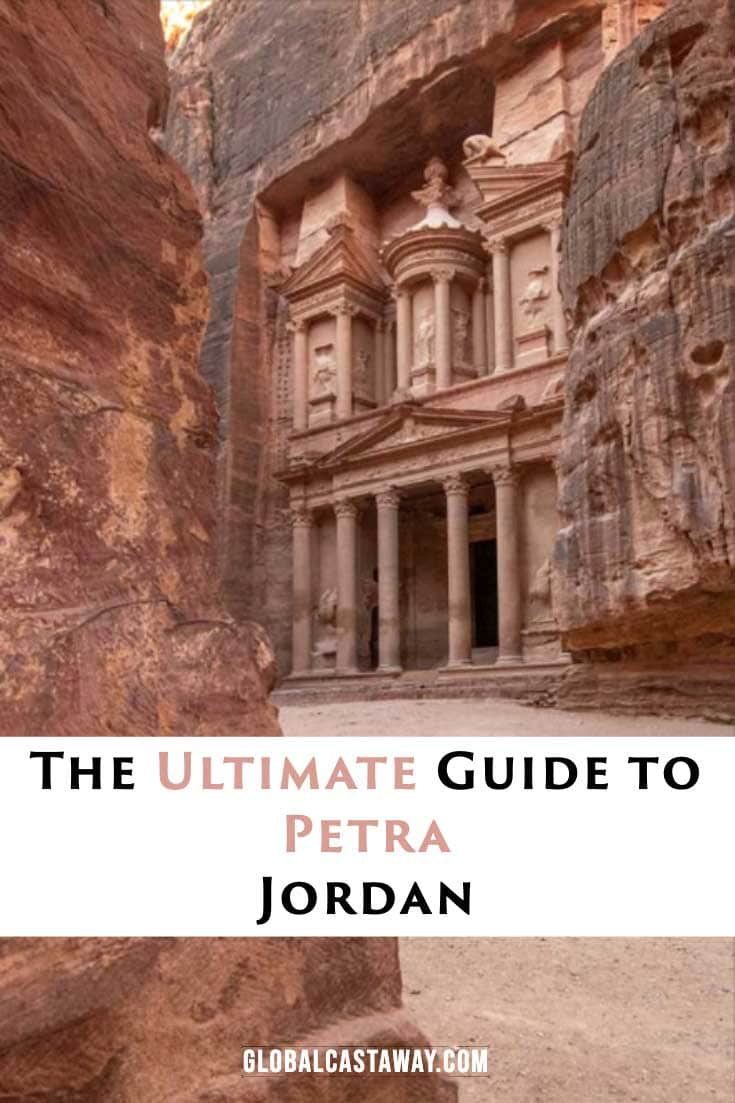 Compete guide of Petra, Jordan. All you need to know! Pine me