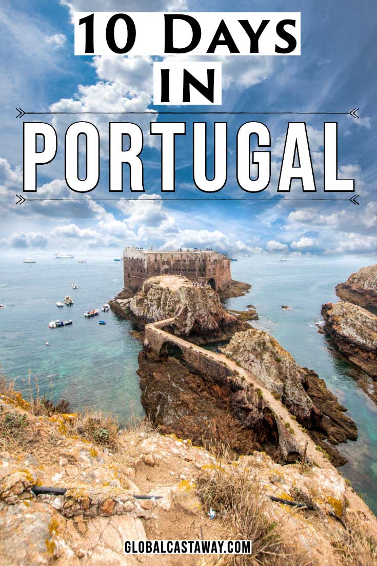 Portugal itinerary pin