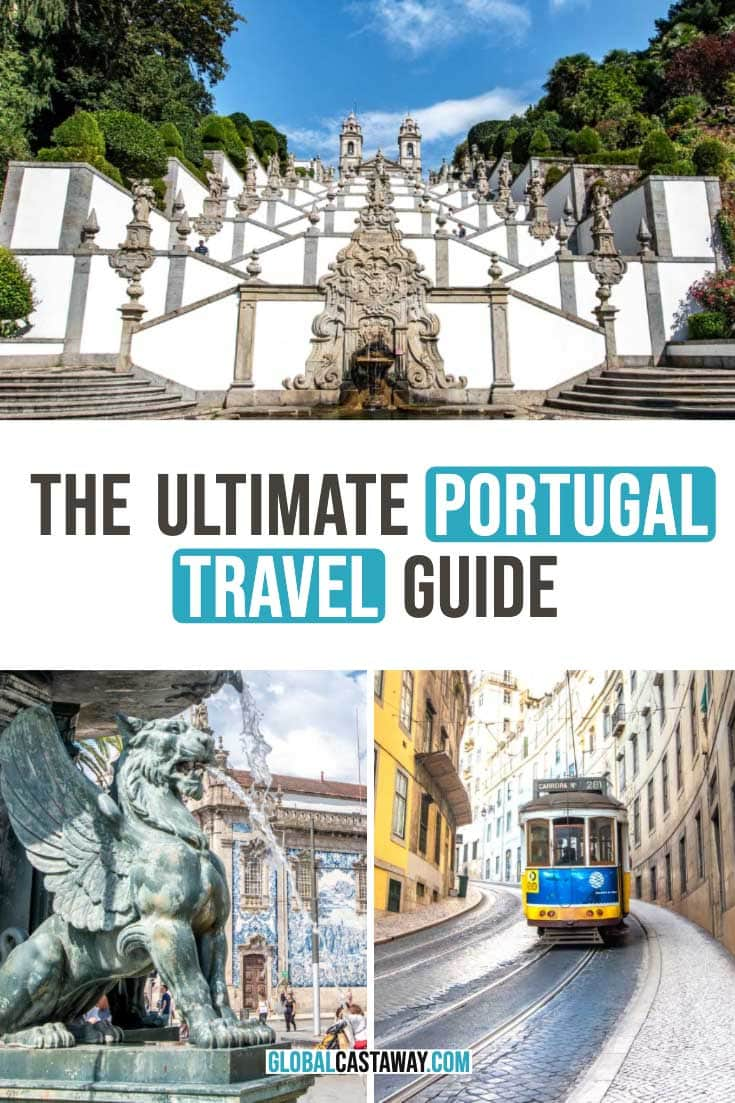 Portugal travel guide pin