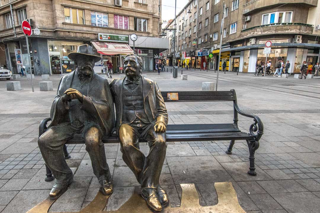 slaveikov-square-in-Sofia - slaveikov bench