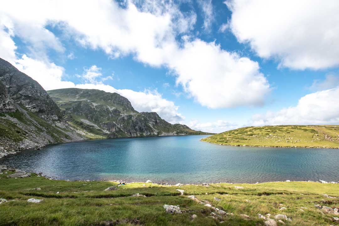 rila lake panorama