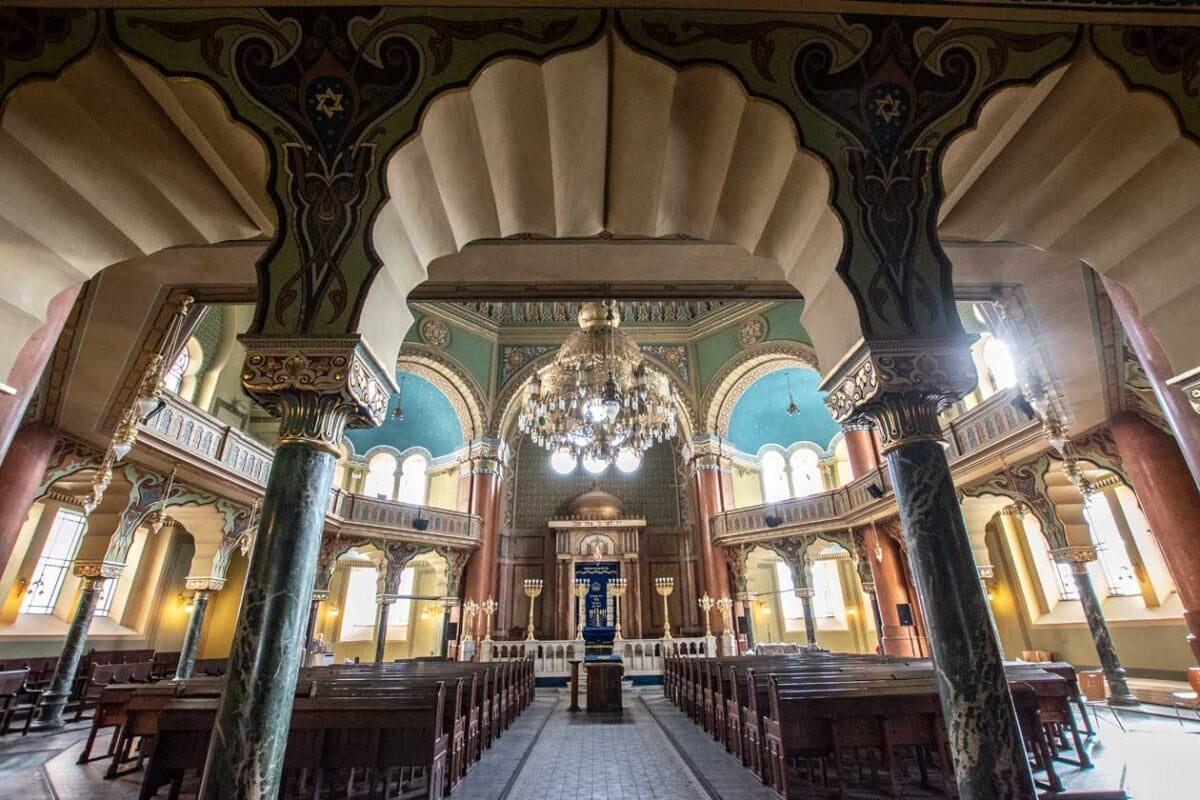 sofia-synagogue interior