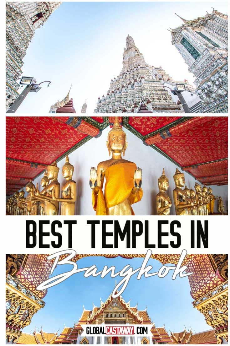 Best Bangkok Temples pin