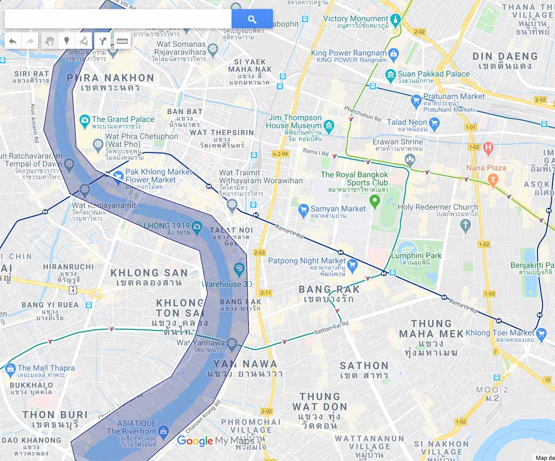 riverside-bangkok-map