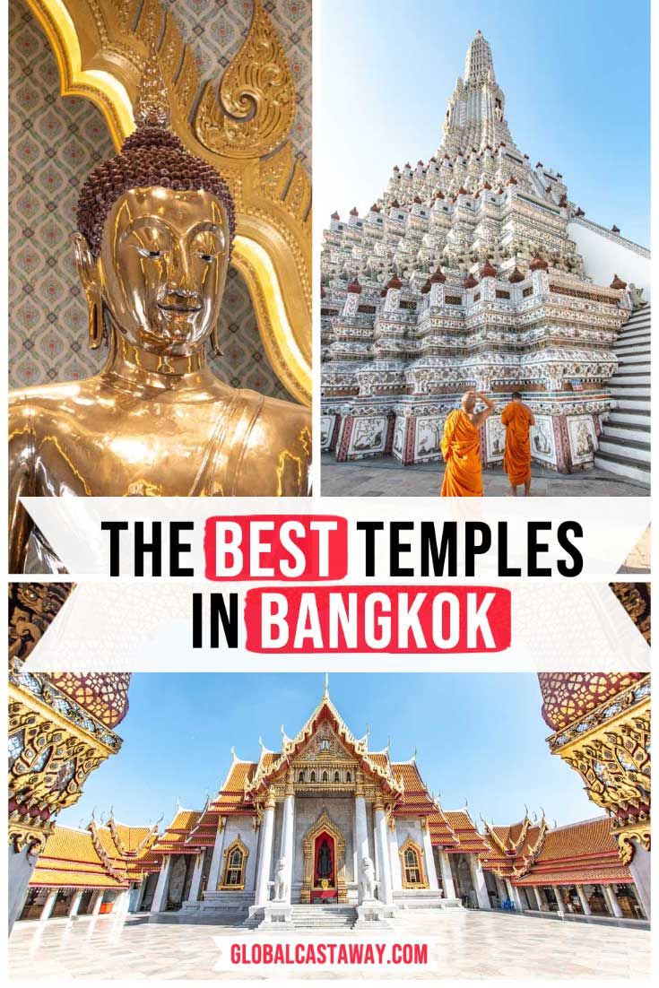 Best temples in Bangkok pin