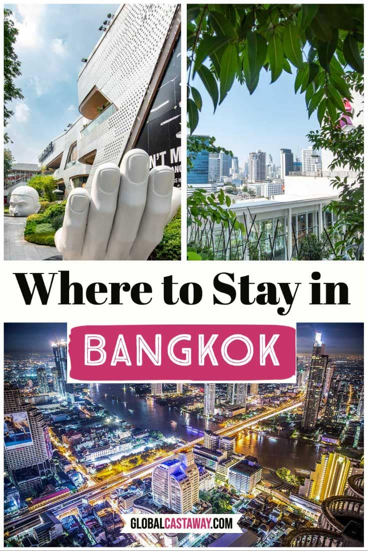 Where to stay in Bangkok pin