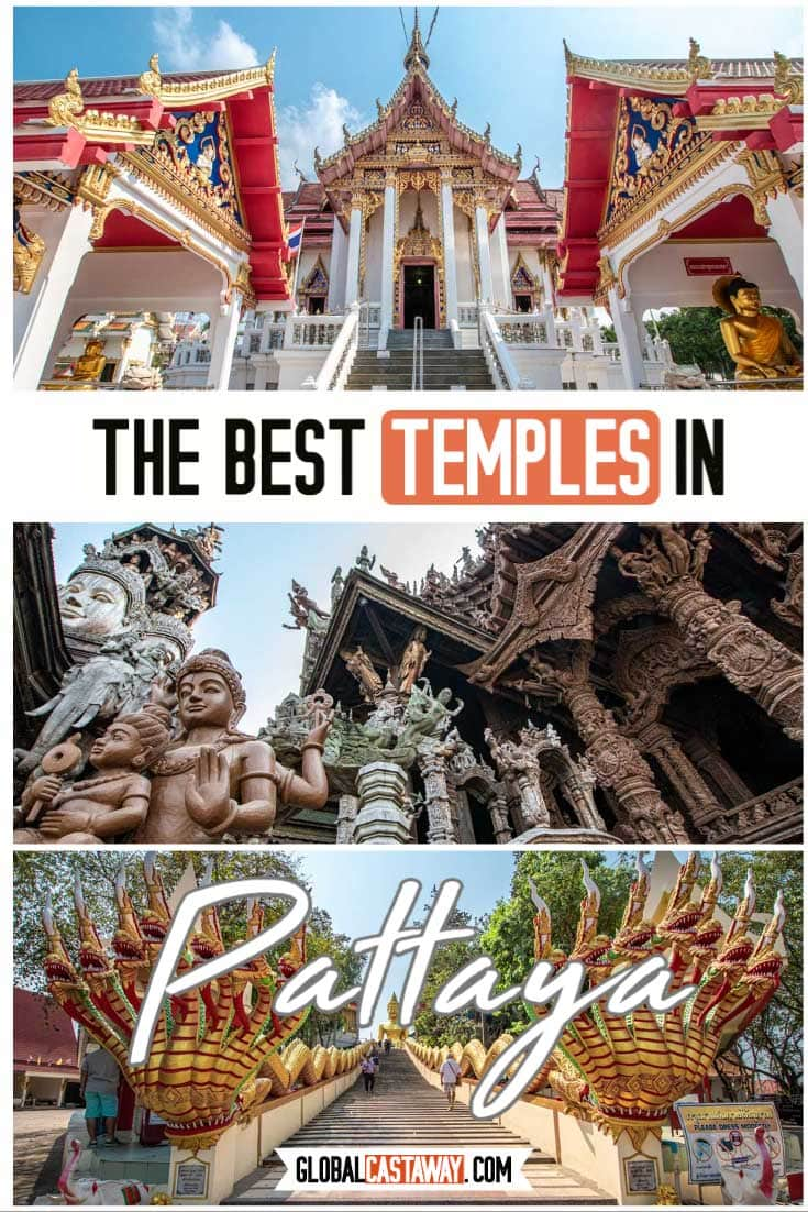 The Best Temples in Pattaya pin