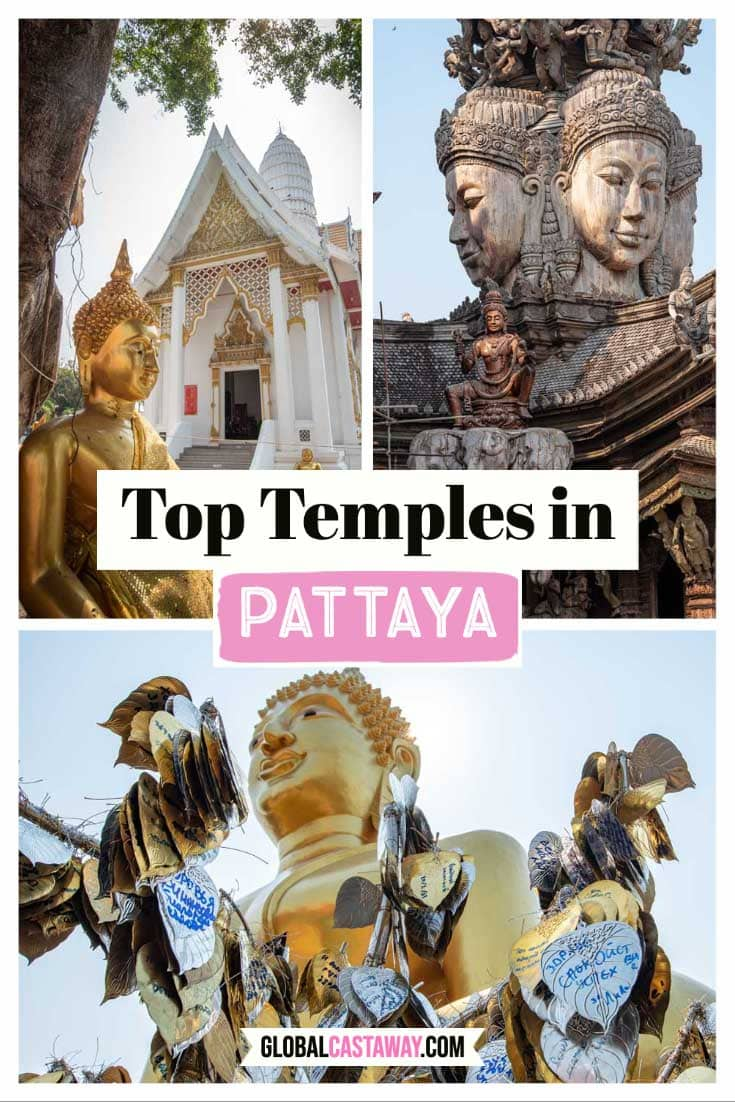 Top Pattay Temples Pin