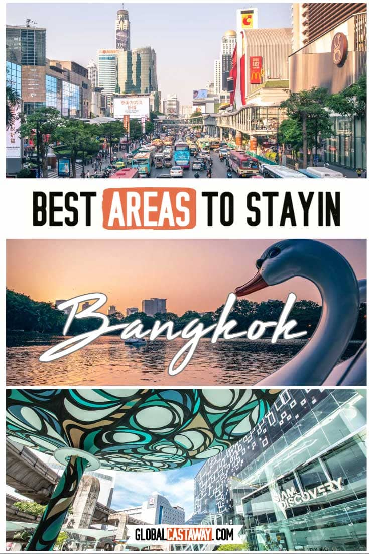 Best areas to stay in Bangkok pin