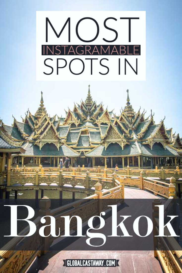 most instagramable places in Bangkok pin