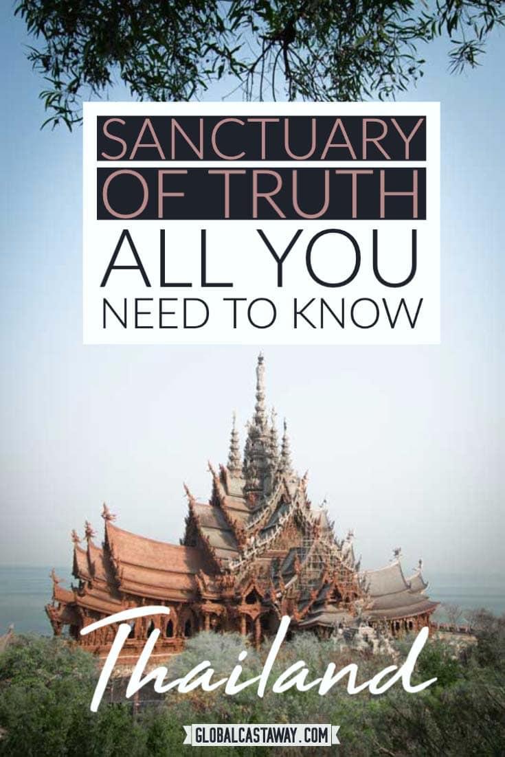 sanctuary of truth pattaya pin
