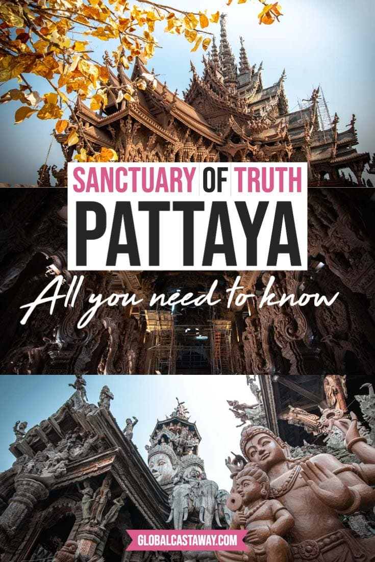 sanctuary of truth thailand pin