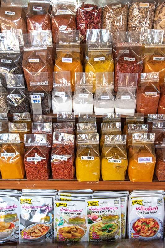 Bangkok souvenirs thai spices