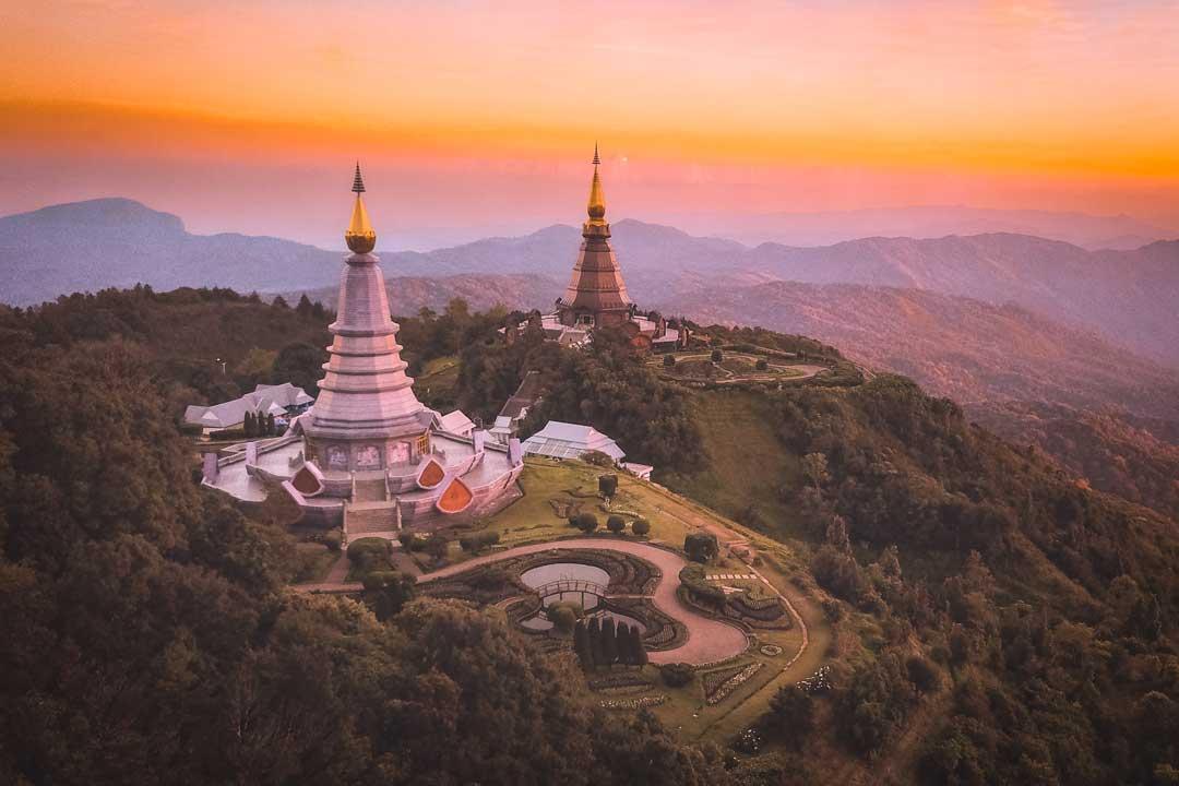 doi-inthanon-mountain-at-sunset