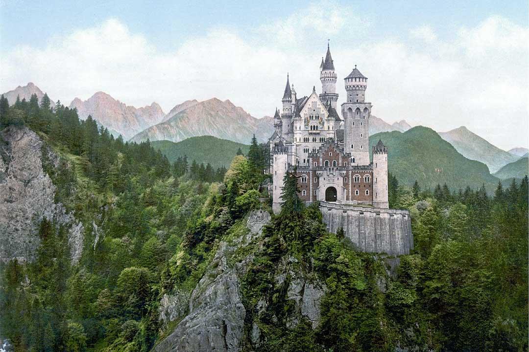 neuschwanstein-castle-painging