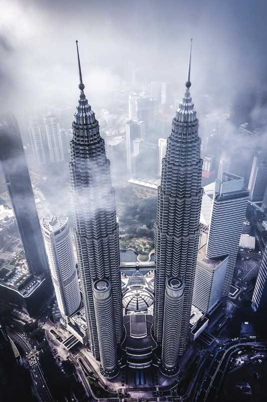petronas-twin-towers-from-above-southeast-asia-bucket-list