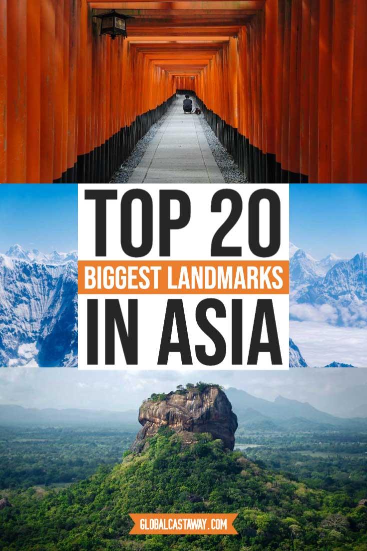 best asian landmarks pin