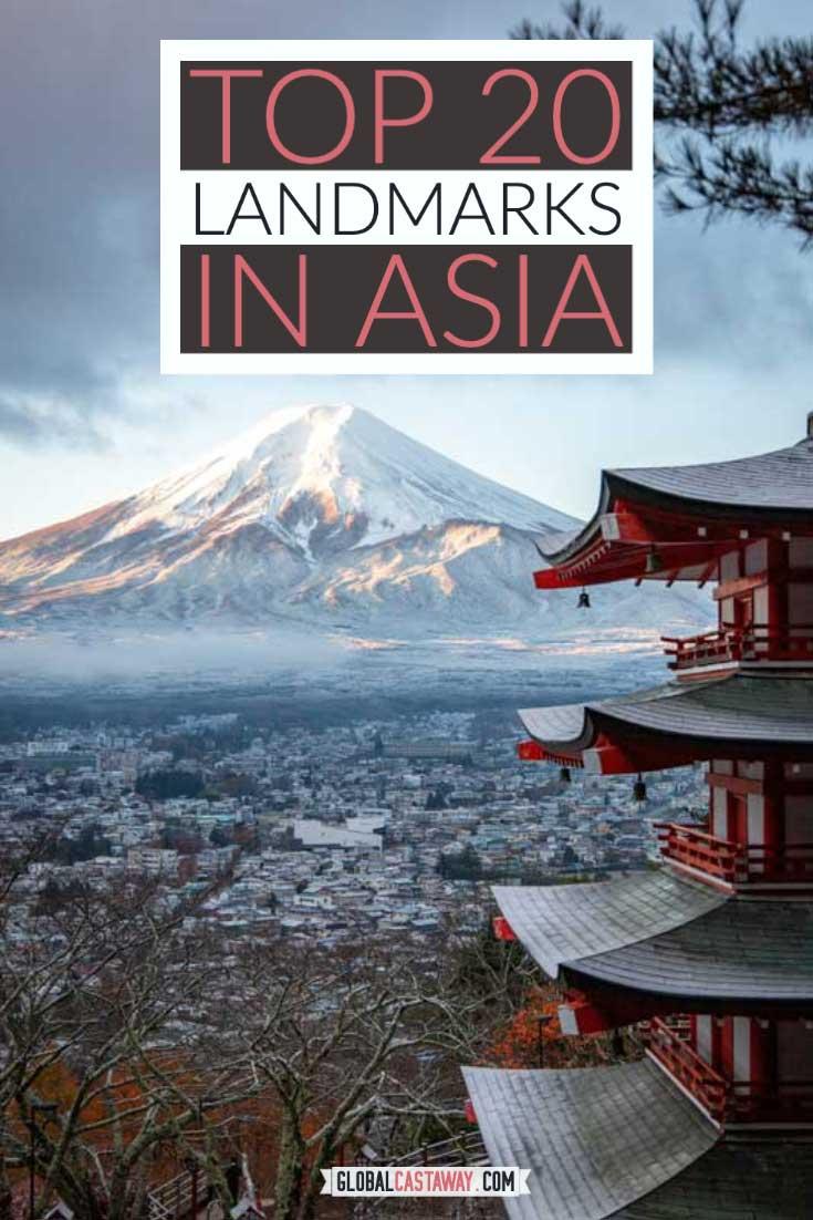 top landmarks in asia pin