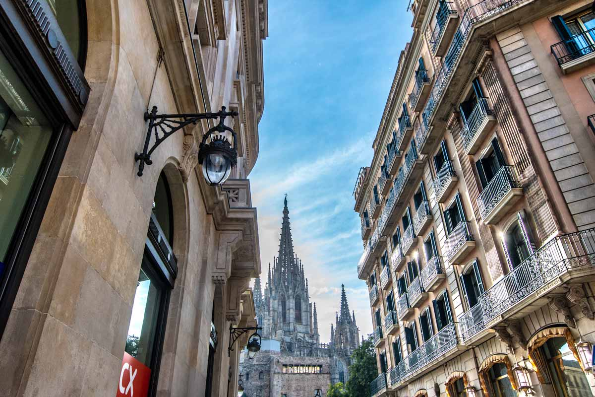 Barcelona facts - walkable city