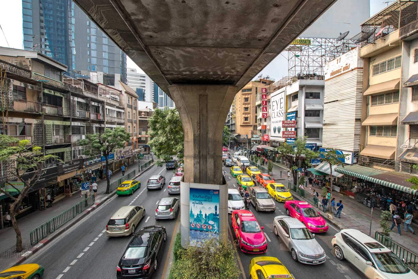 bangkok facts - bangkok traffic