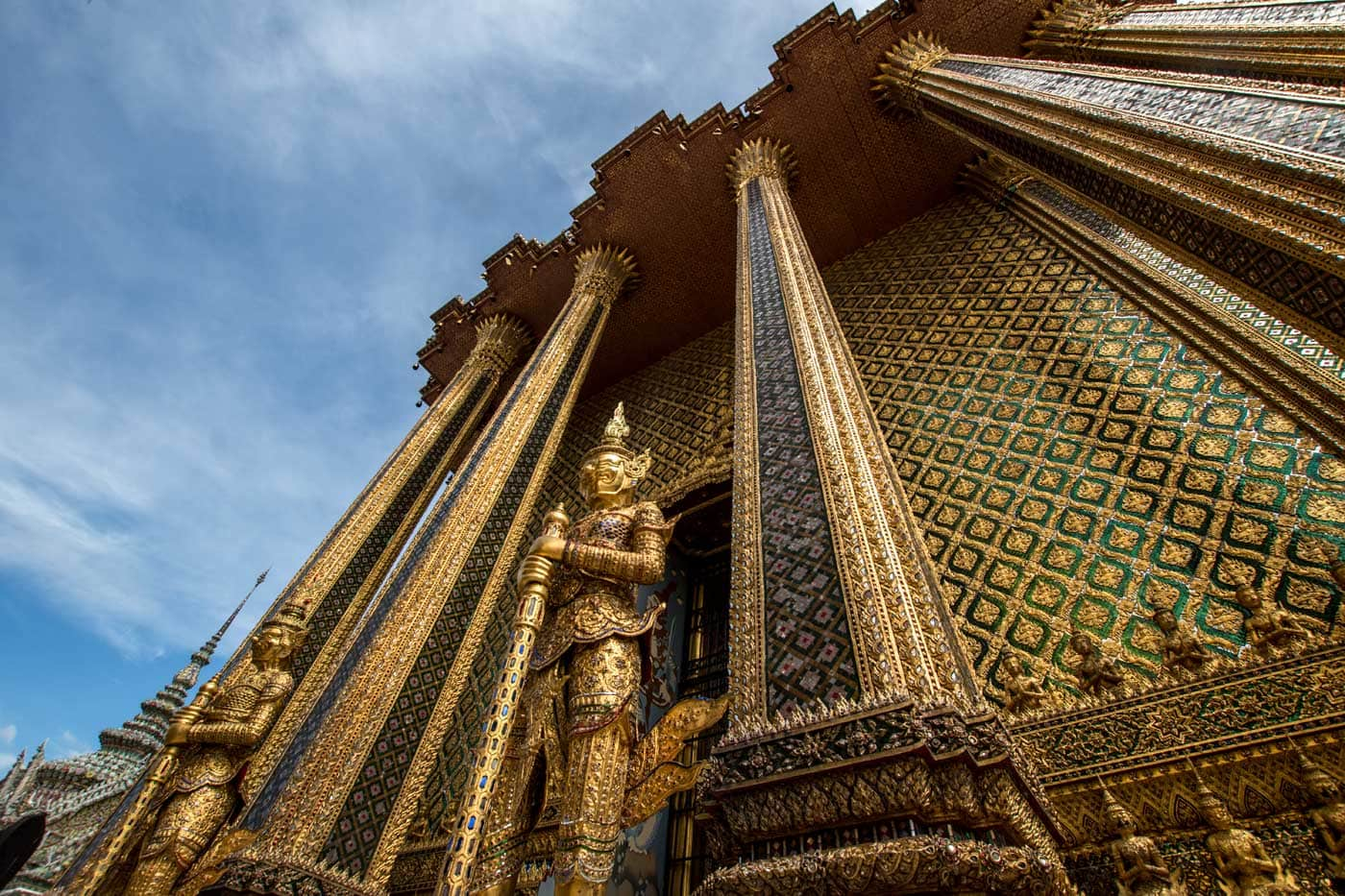 what bangkok is famous for - golden structure in grand palace