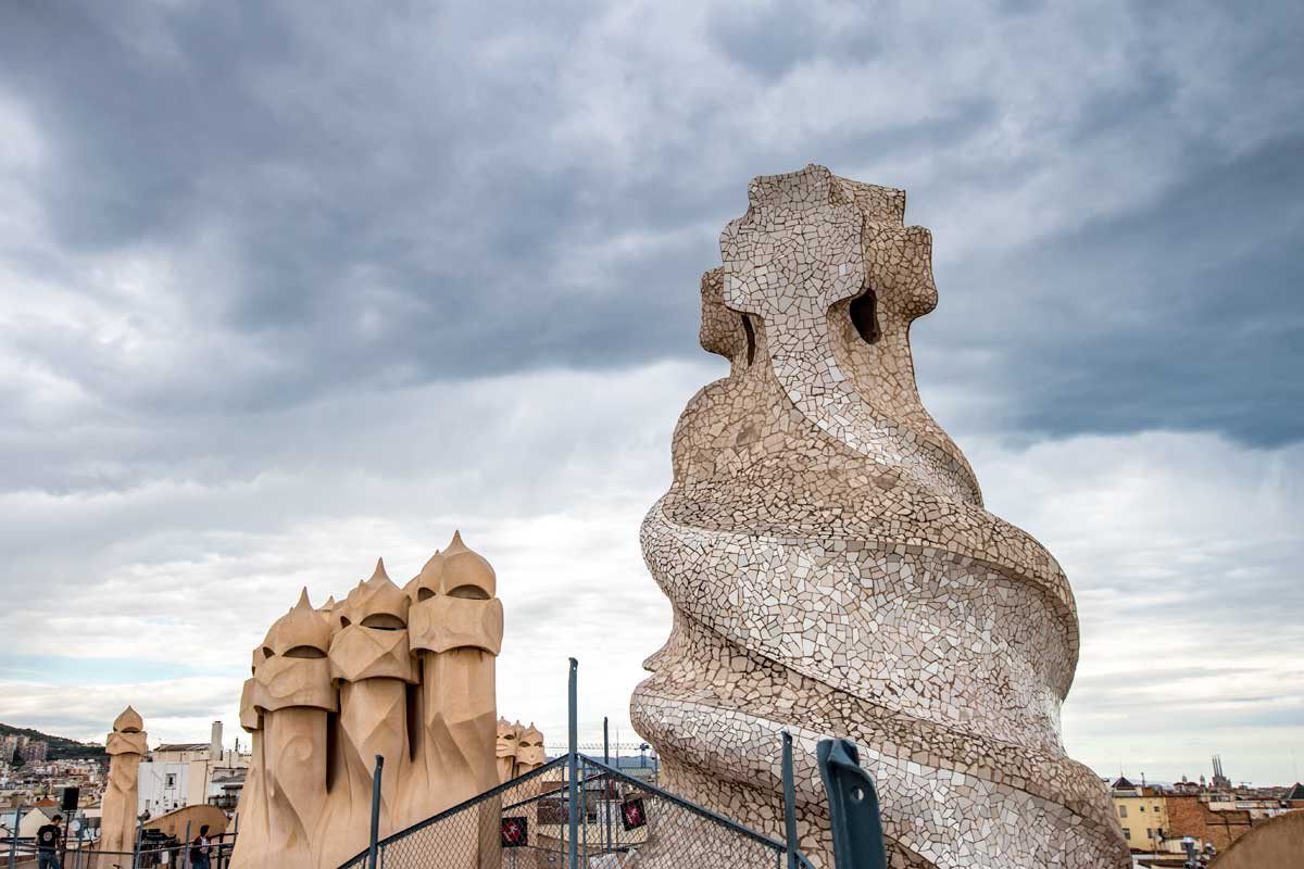facts about barcelona - stormtrooper roof
