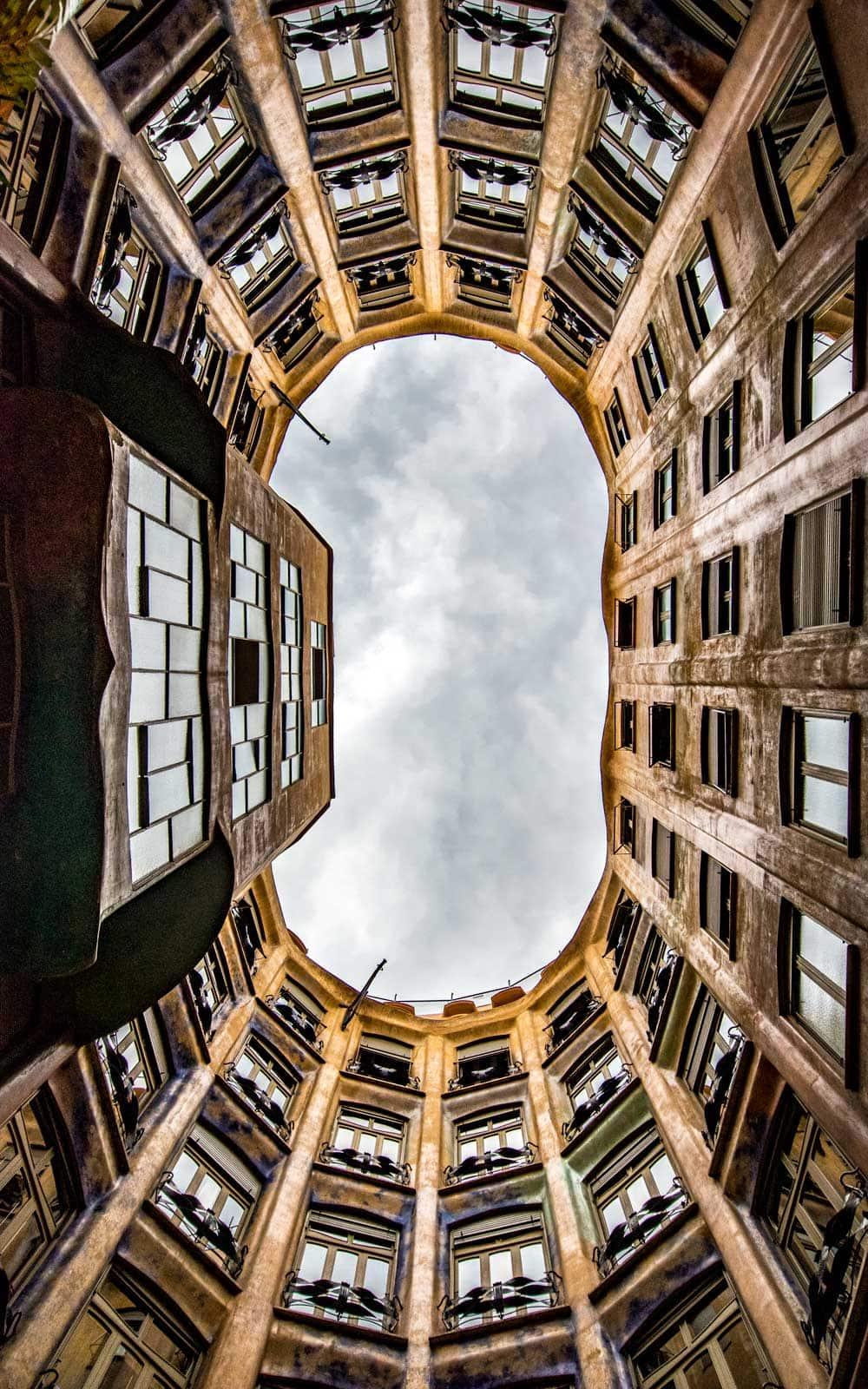 Barcelona facts - casa mila architecture