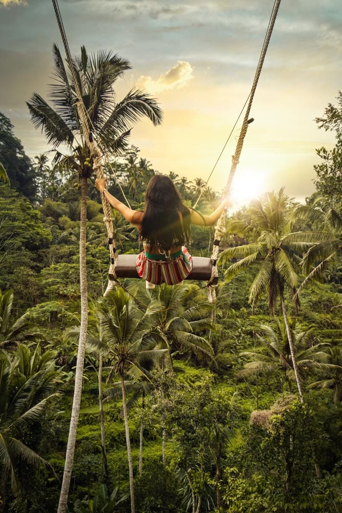 facts about bali girl-on-the-original-bali-swing