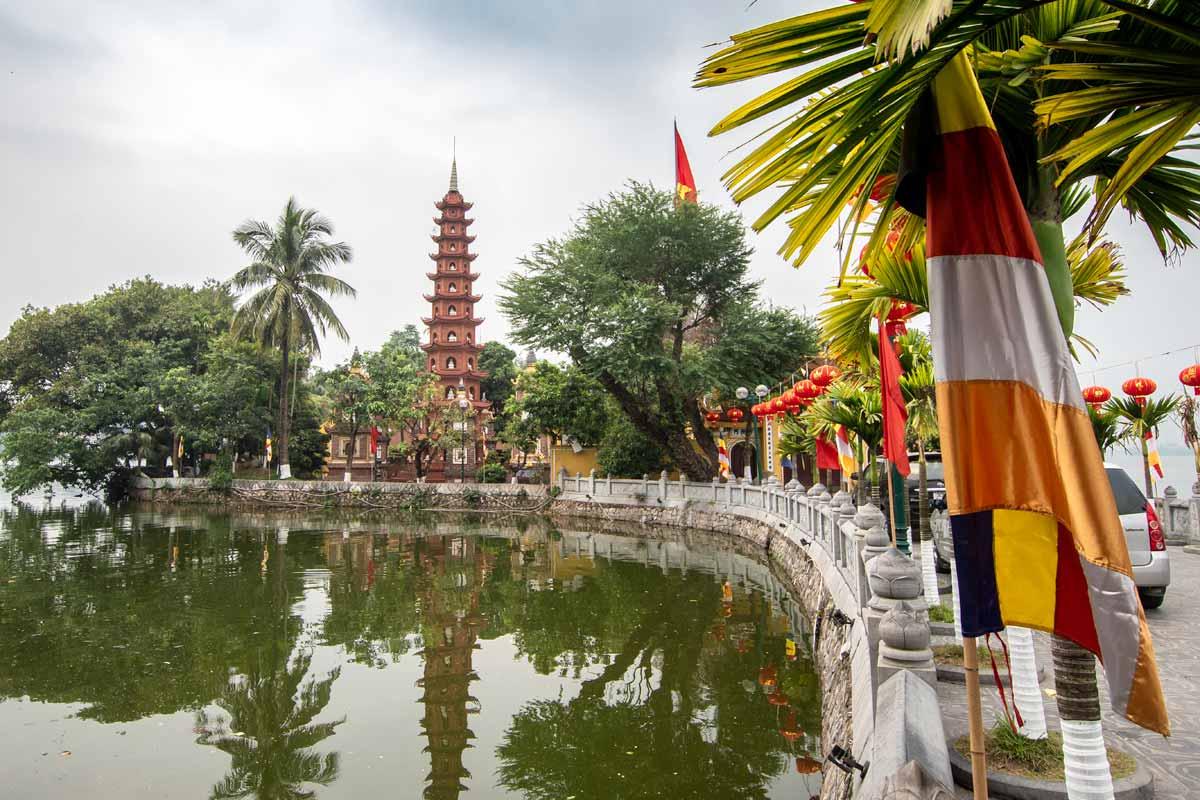 hanoi bucket list - old pagoda