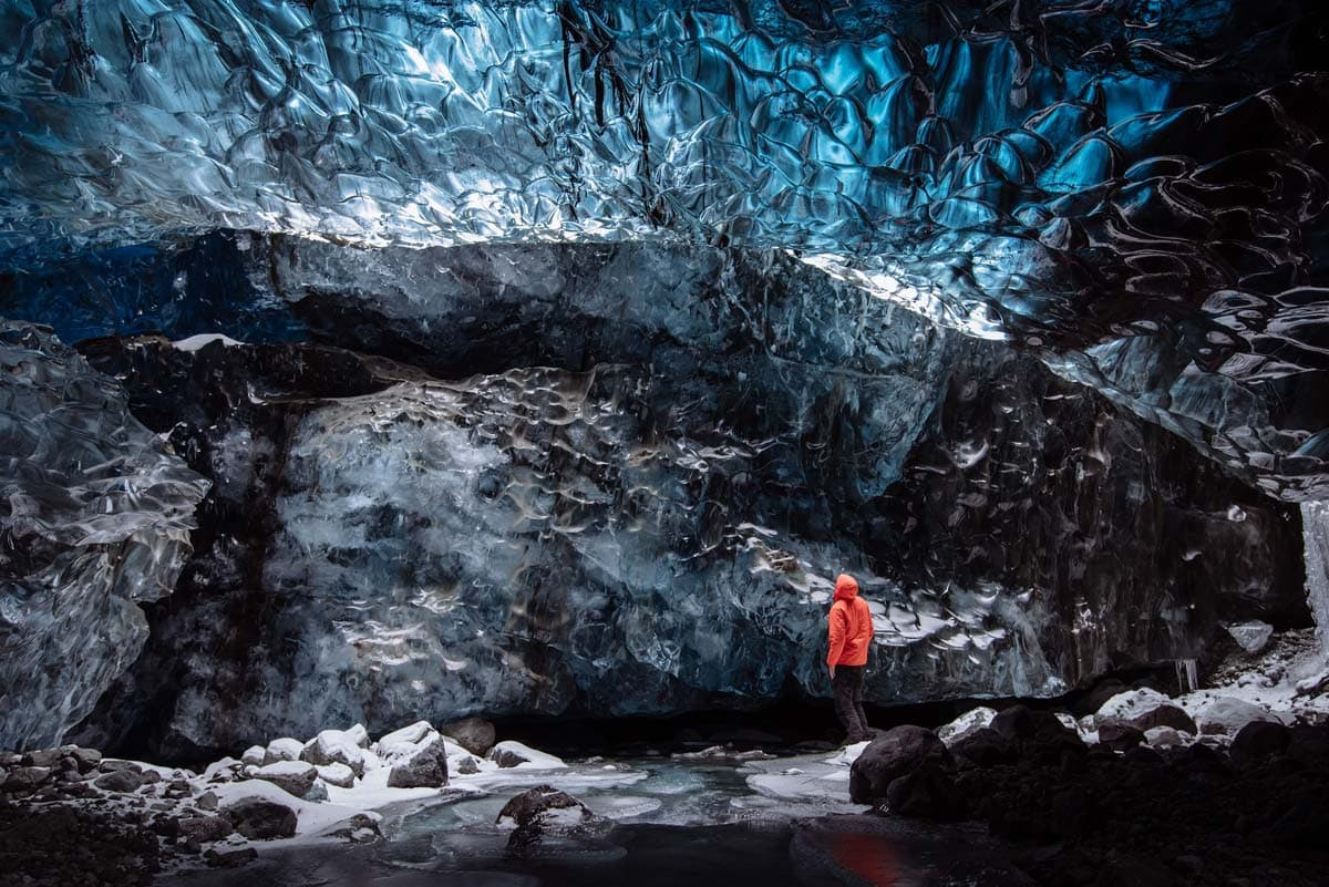 man-in-an-ice-cave-in-iceland