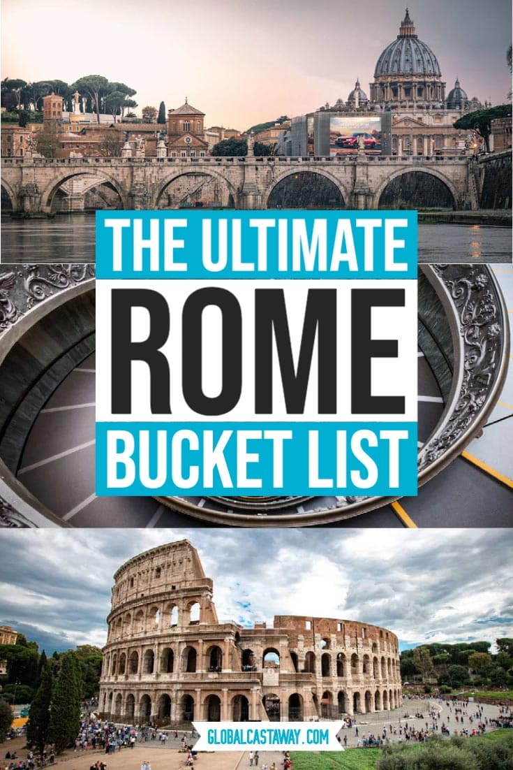 ultimate roman bucket list pin