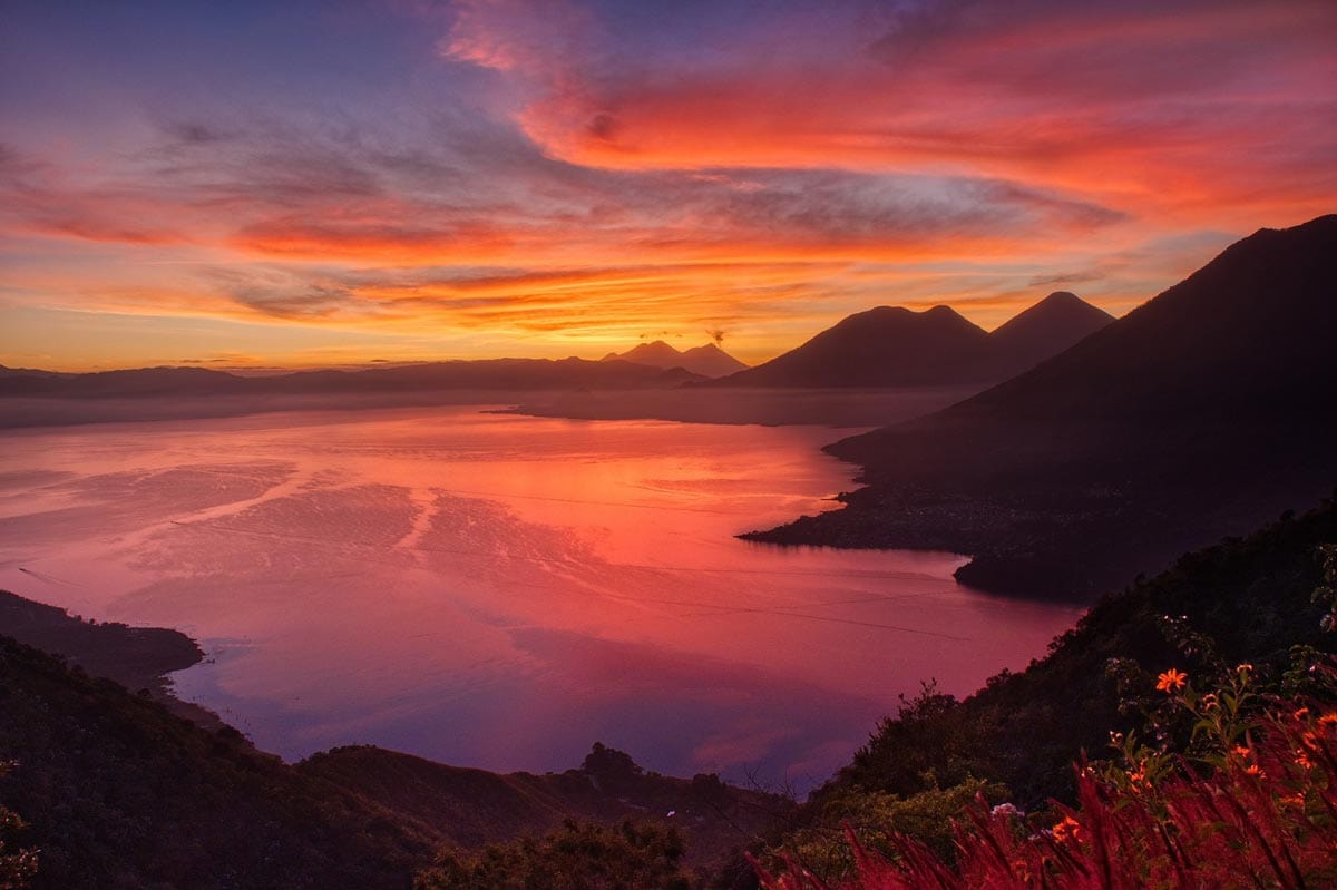 travel-bucket-list-guatemala-lake-panorama-at-sunset