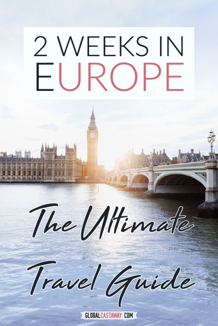 ultimate europe itinerary pin