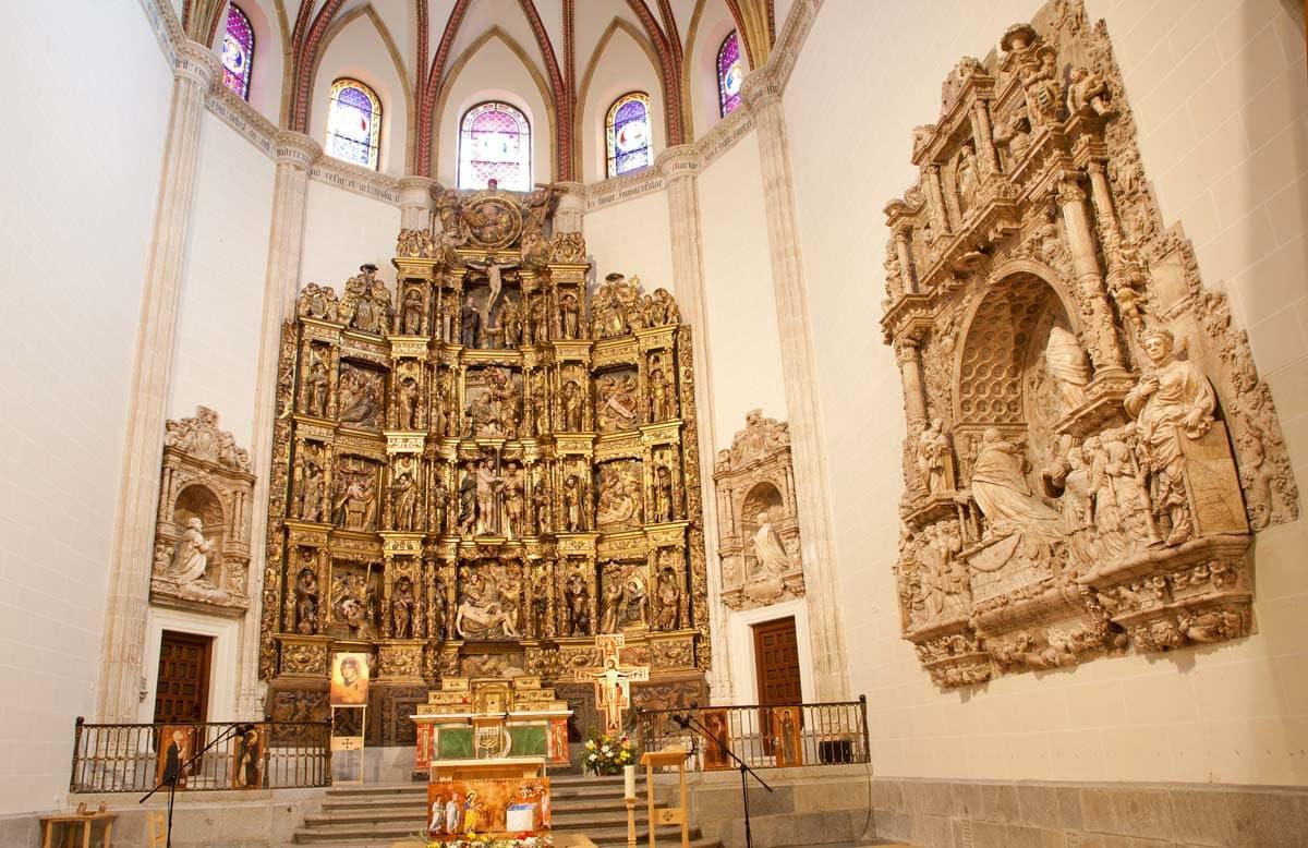 visit chapel de obispo while spending 2 days in Madrid