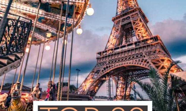 Top 20 Landmarks in Europe