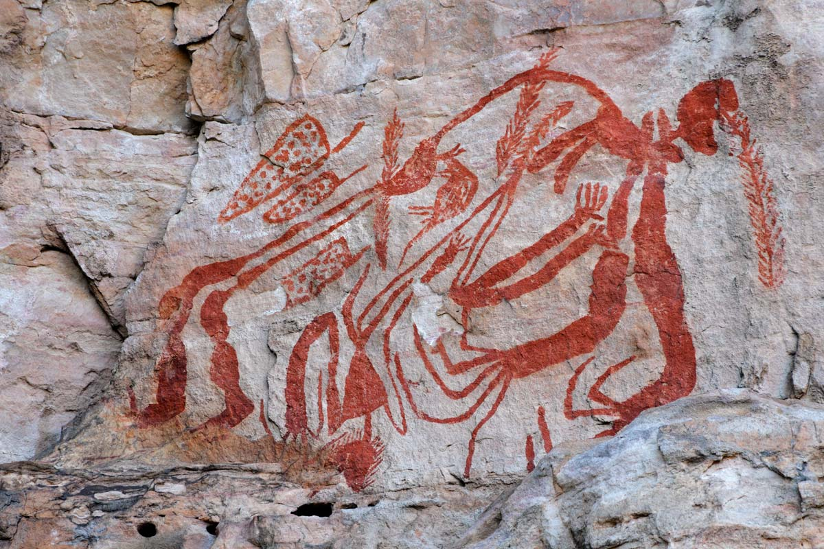 rock-art-depicing-ancient-australian-life