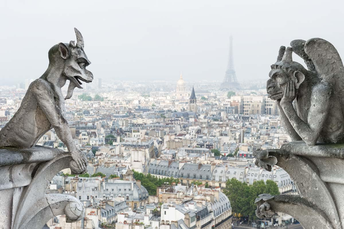 gargoyles-of-notre-dame-with-paris-panorama