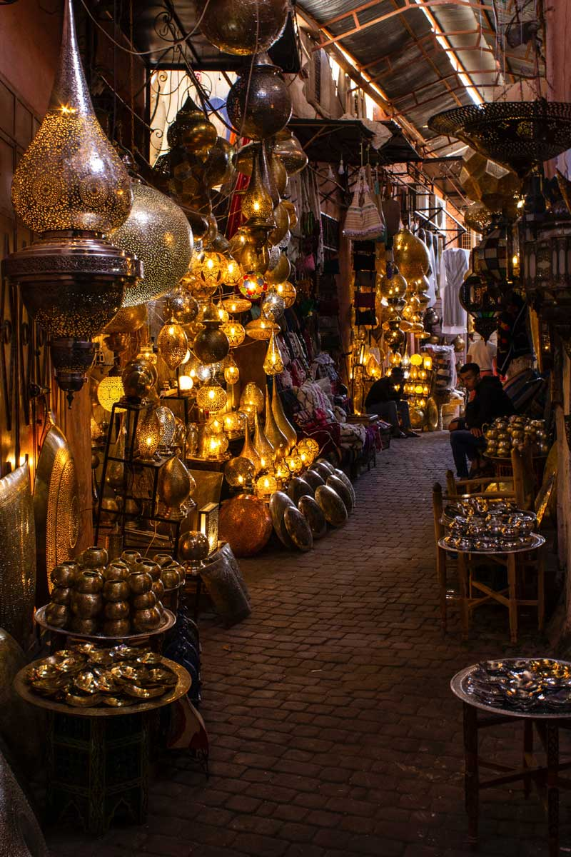 what-is-morocco-famous-for---a-souk-with-dozens-latterns-and-lamps-at-night
