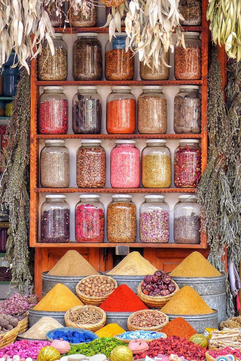 what-morocco-is-famous-for-a-colorfull-stall-with-spices