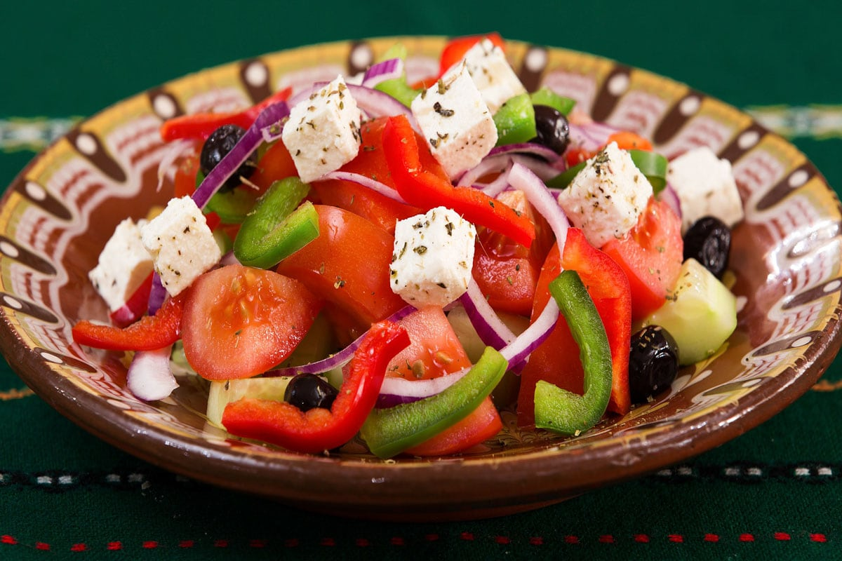 facts-about-greece-plate-with-a-greek-salad