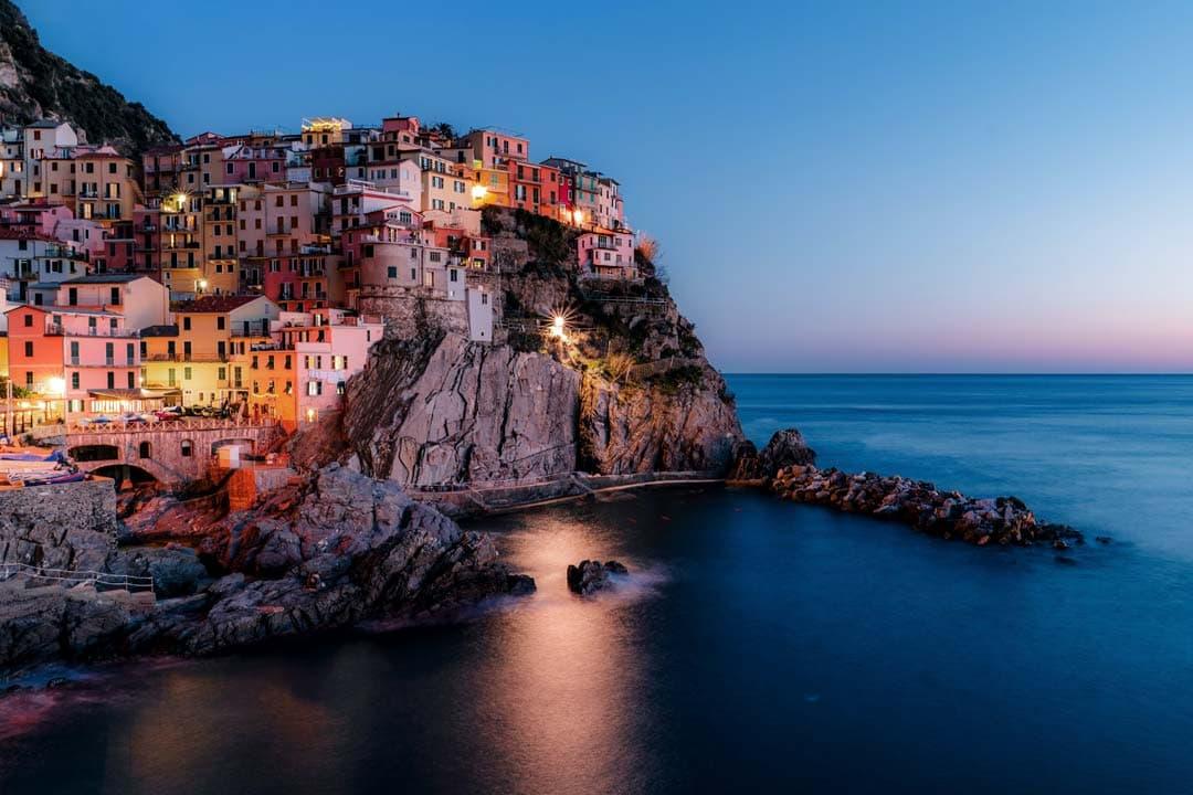 italian-landmarks-cinque-terre-panorama-at-night