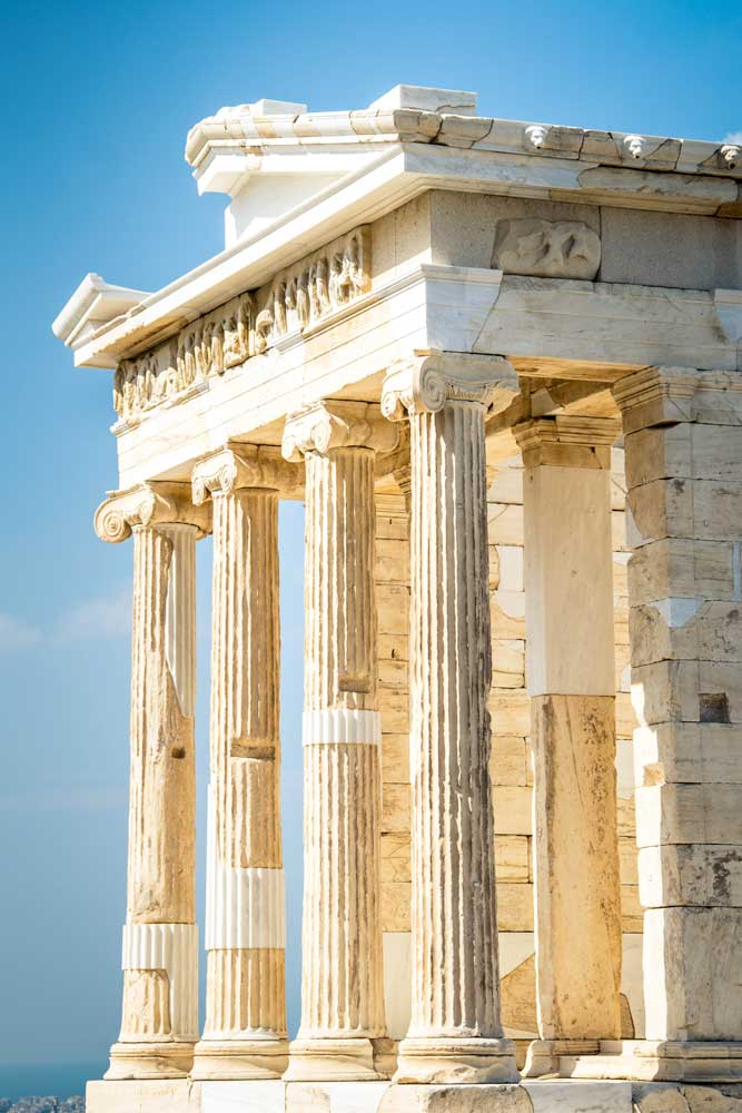 what-is-greece-known-for-side-shot-of-the-parthenon-in-the-acropolis