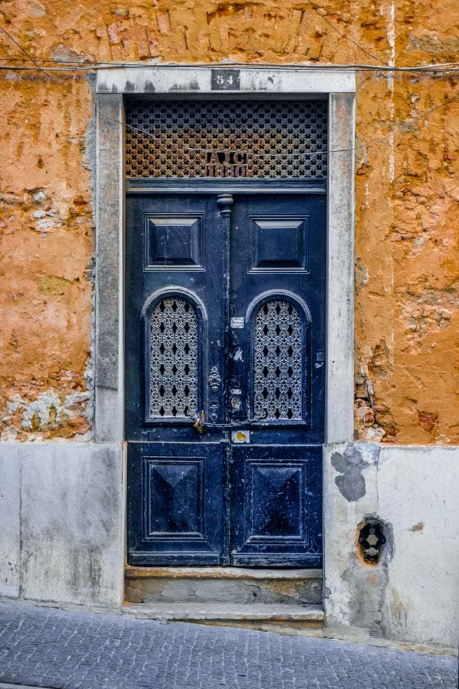 fun-facts-about-portugal-old-door-in-lisbon